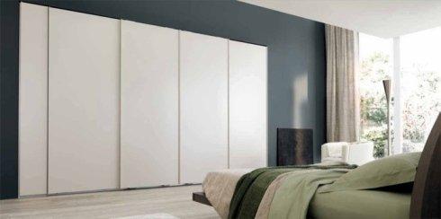 armadio contemporaneo, armadio, armadio bianco