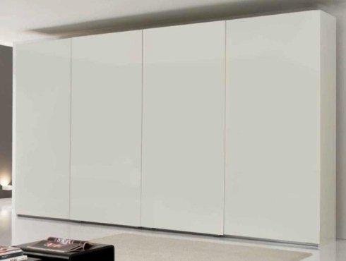 armadio a parete lucida, armadio, armadio bianco