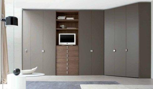 armadio con cassetti, armadio stile moderno, armadio su misura