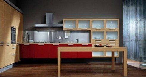 Tavolo da cucina, cucina, cucina moderna