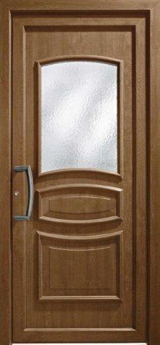 Porta in legno scuro, porta, portoncino