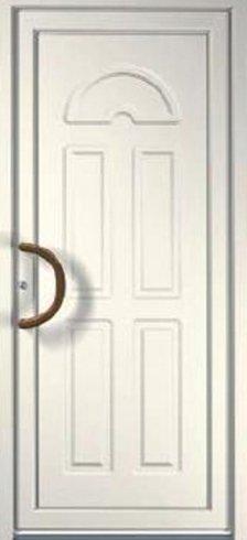 Porta in legno bianca, porta per interno, porta per esterno