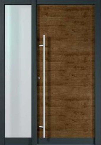 Portoncino con inserto in vetro, porta, portone