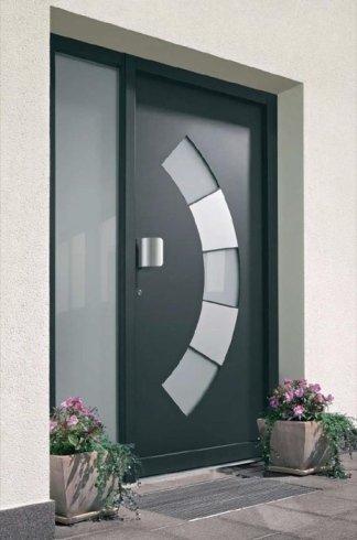 Porta di design, porta per interno, porta in pvc