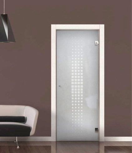 Porta per ufficio, porta, porta per ambienti interni, vetro, porta in vetro