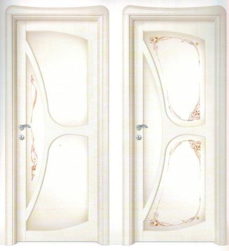 Dettaglio porte, porte per interno, porta bianca, liberty