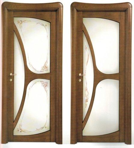 Modelli porte in legno scuro, porta in legno, porta