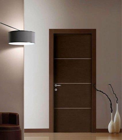 Porta a sezioni, porta per interni, porta in legno