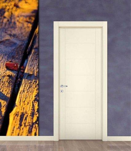 Porta bianca, porta in pvc, porta per ambienti interni