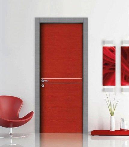 Porta Rossa, porta in legno, porta di design