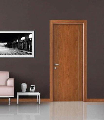 Porta per soggiorno, porta in legno chiaro, porta in legno pregiato