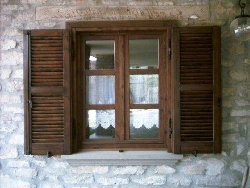 finestre in legno, finestre alluminio, scale in legno