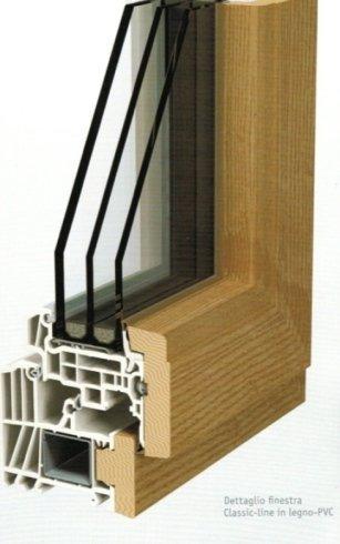 finestre isolanti, finestre con doppio vetro, finestre in legno