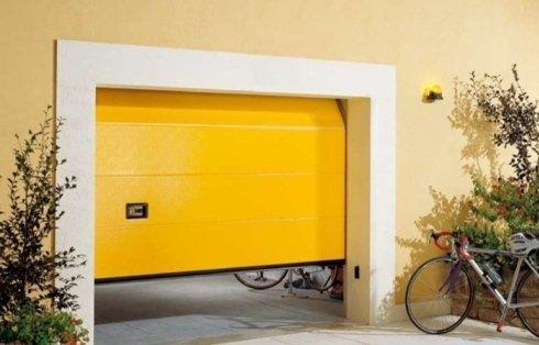Sezionale, garage, porta, lake