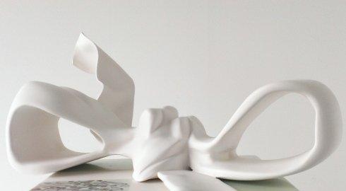 fiocco, scatola, arte, scultura, disegnart, design, nastro decoupage