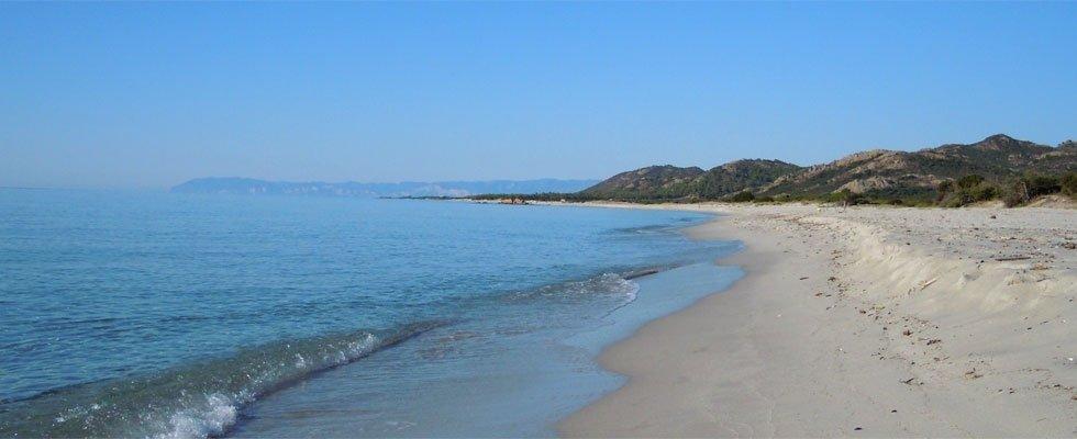 Siniscola sea