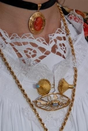 Traditional Siniscola jewellery