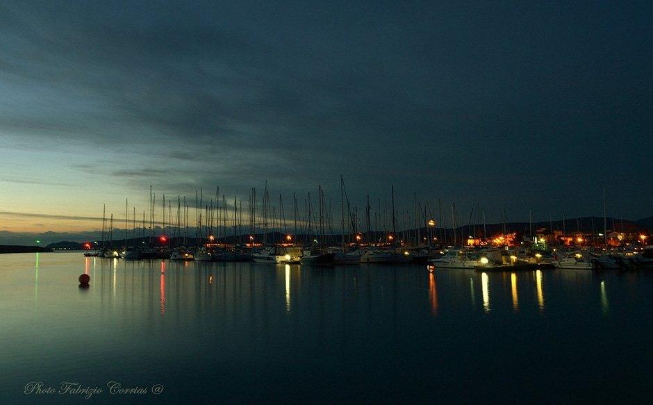 The port of La Caletta