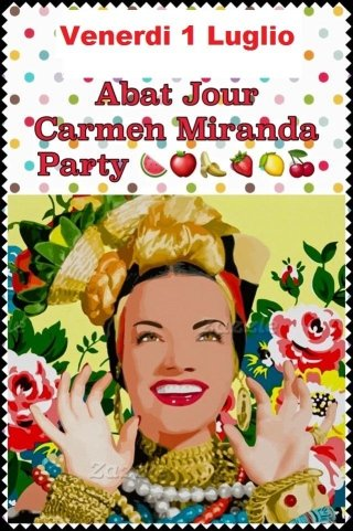 Party Carmen Miranda