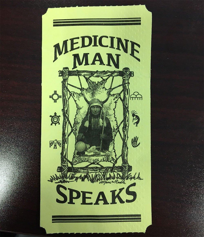Medicine Man Speaks