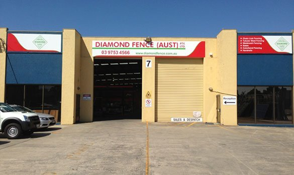 diamond fence australia shop exterior