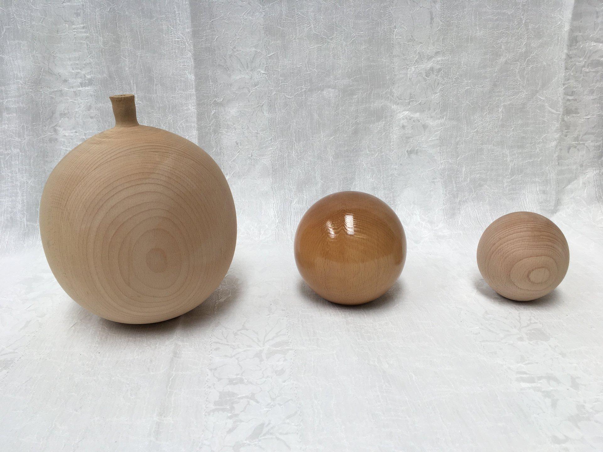 sfere di legno