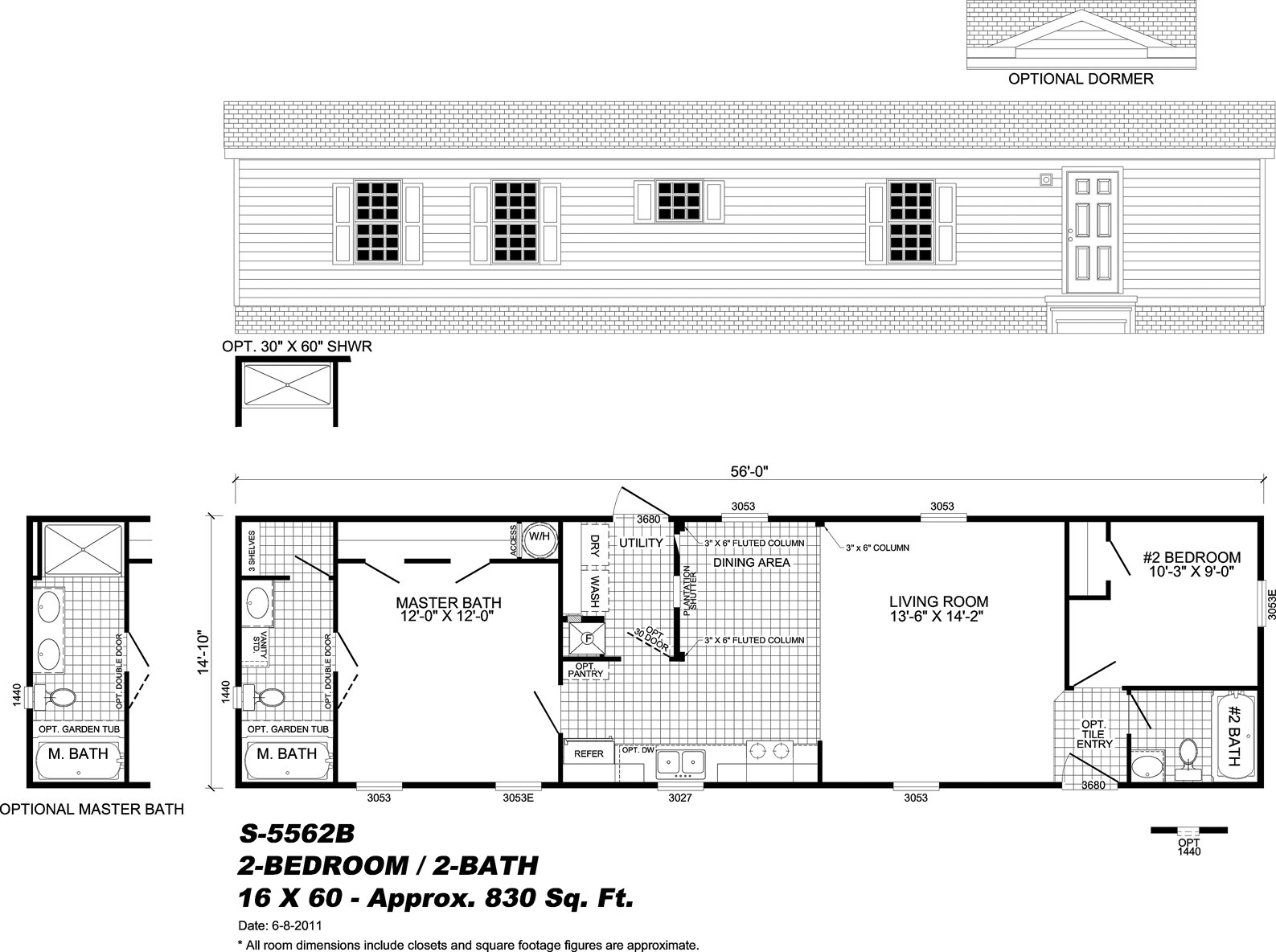Rainbow homes augusta ga single wide manufactured homes for Bath remodel augusta ga
