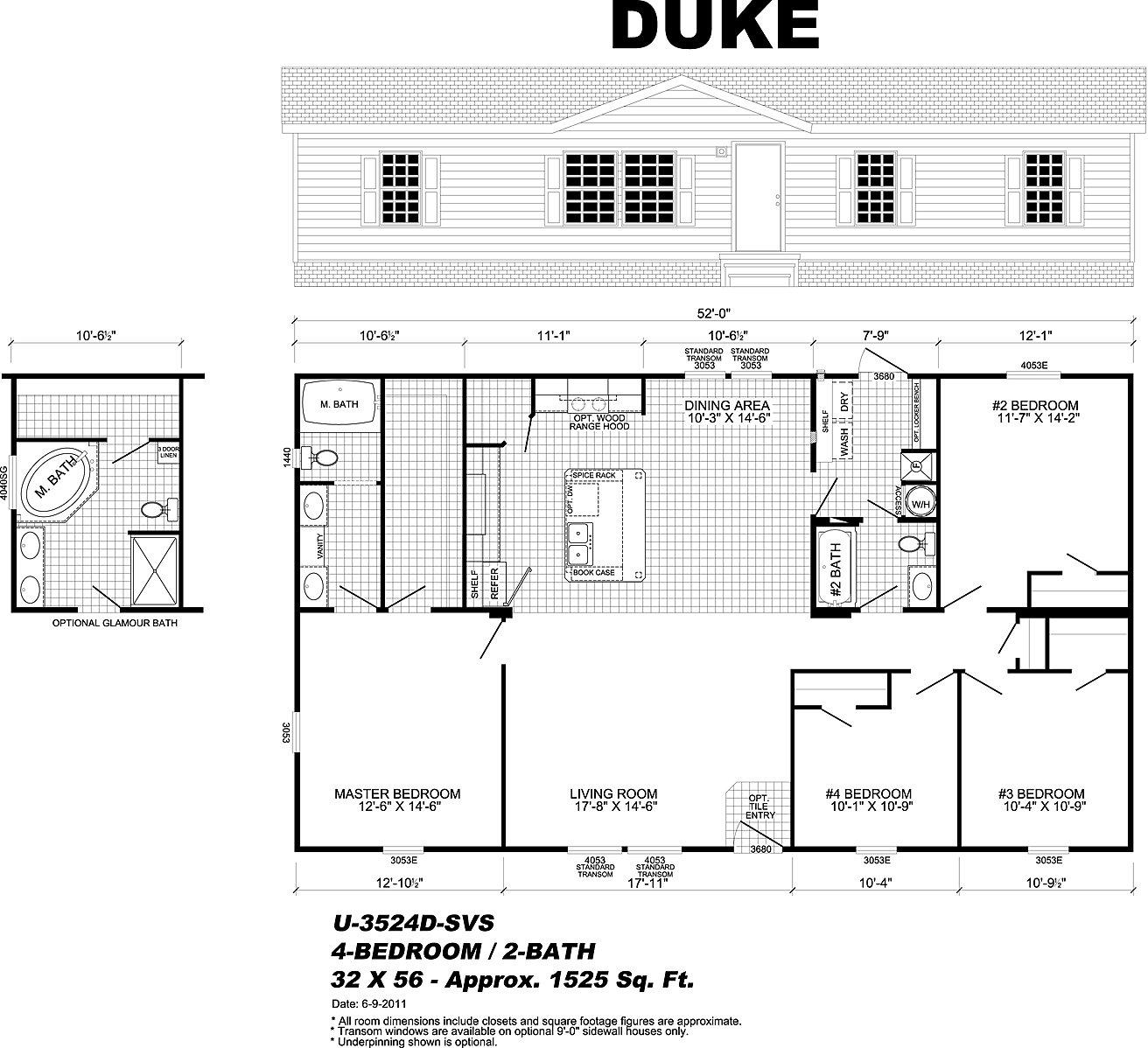 Rainbow homes augusta ga 4 bedroom for Designer homes augusta ga