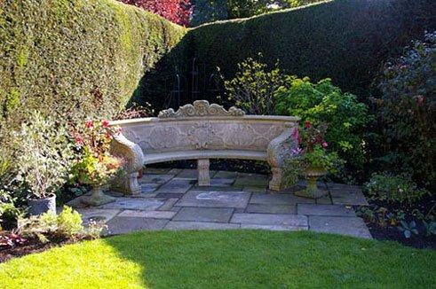 garden area bench