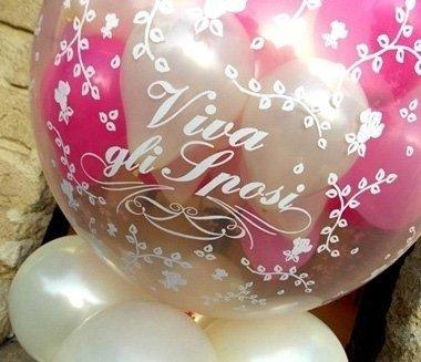 palloncini per nozze