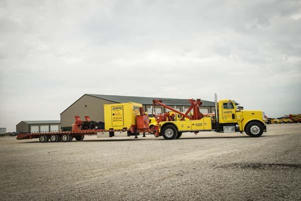 roberts yellow trucks