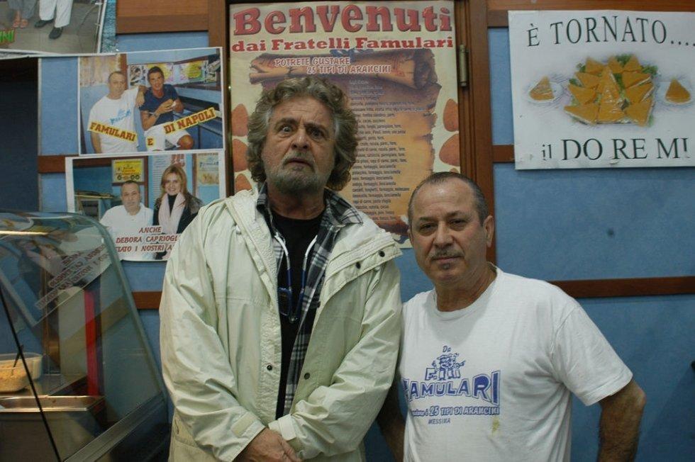 Beppe Grillo da Famulari