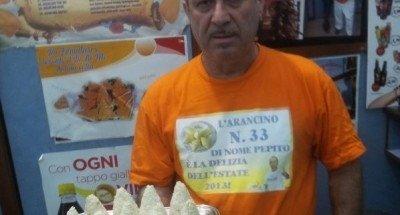Arancino Papa Francesco