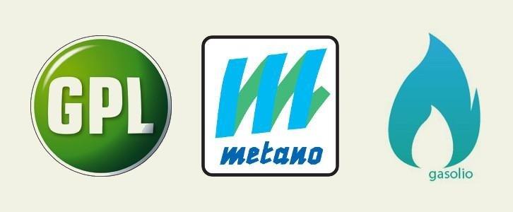 Vendita GPL, metano e gasolio