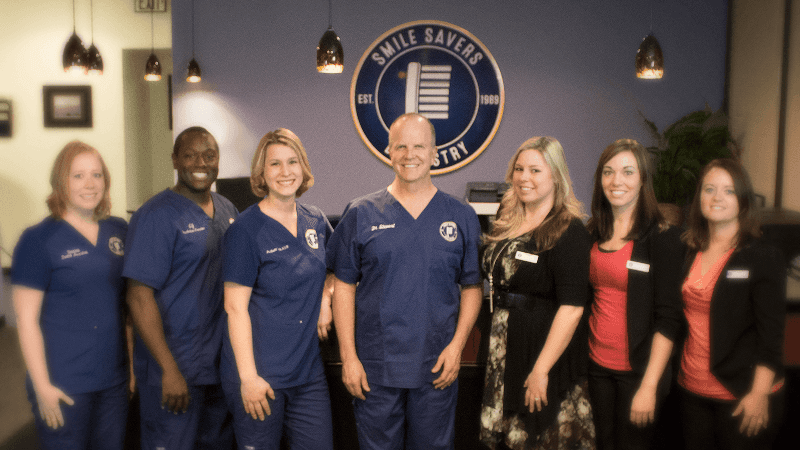 Dr. Stewart and the Smile Savers Dentistry Team