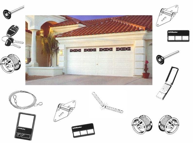 Variety of garage door parts in Waikato