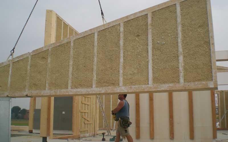 edificazione casa in canapa
