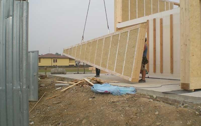 costruzione realizzata in canapa