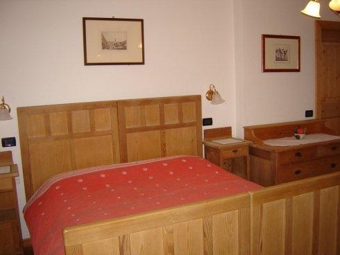 Camera da letto appartamento Genzianella