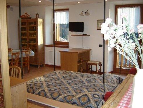 soggiorno appartamento Genzianella