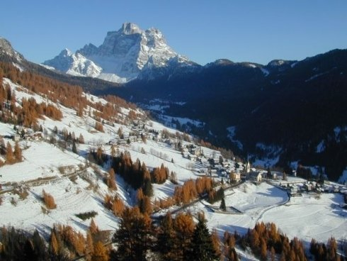 vacanze invernali sulle Dolomiti di selva di Cadore