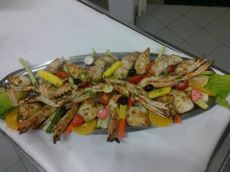 Secondi di pesce fresco