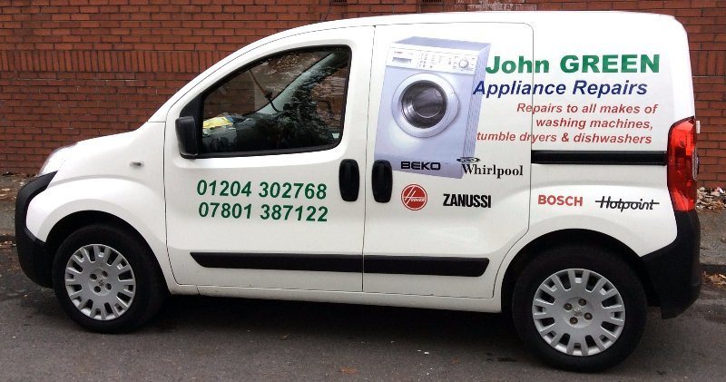 John Green Appliance Repairs van