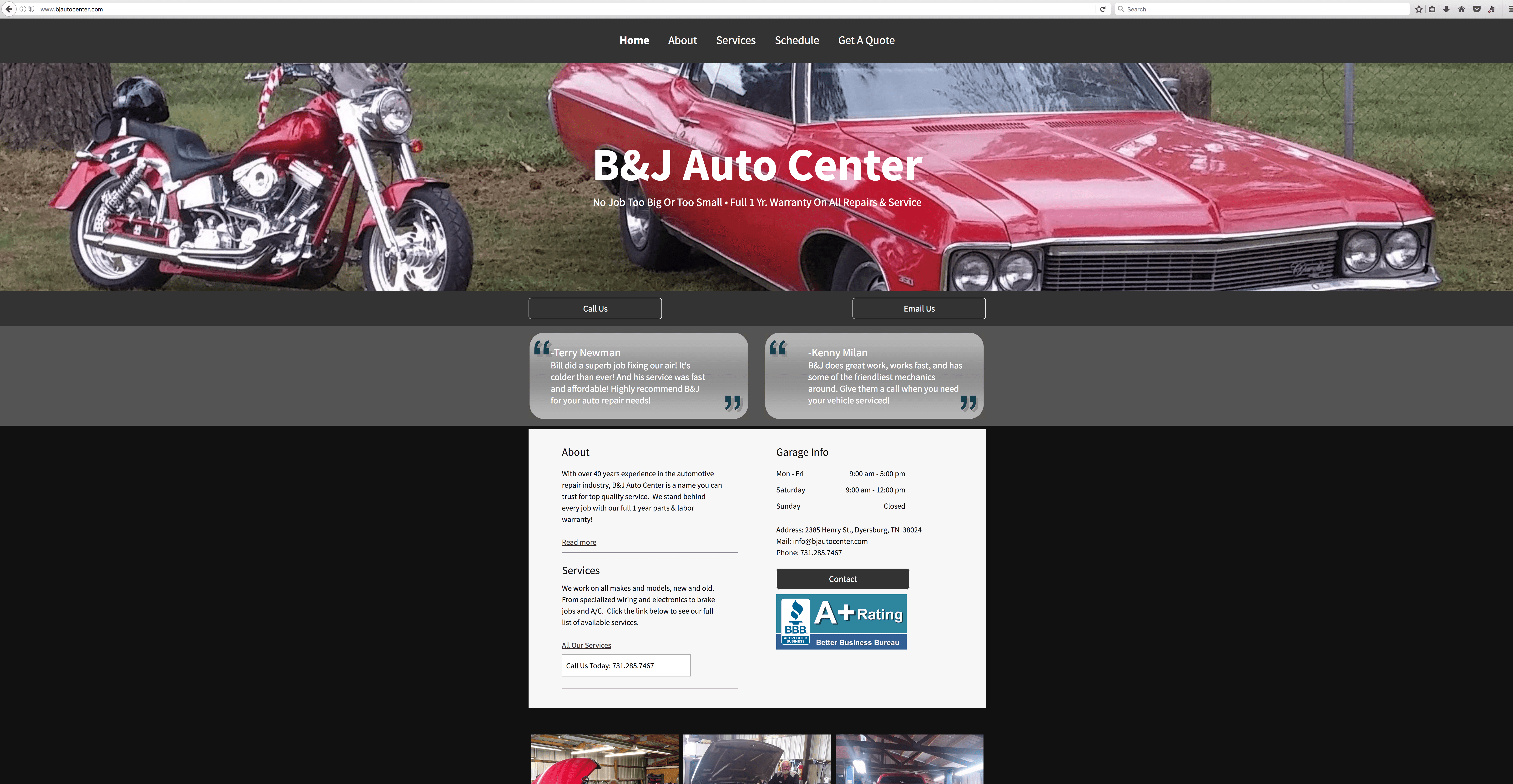 B&J Auto Center