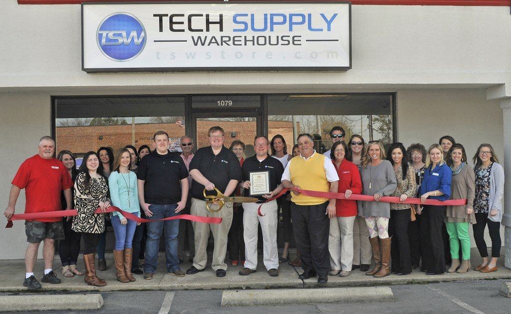 Tech Supply Warehouse Ribbon Cutting Ceremony