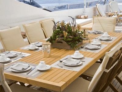 allestimenti floreali per yacht