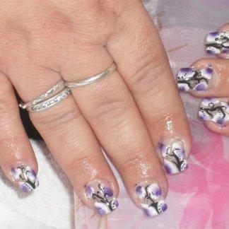 nail art con micropittura
