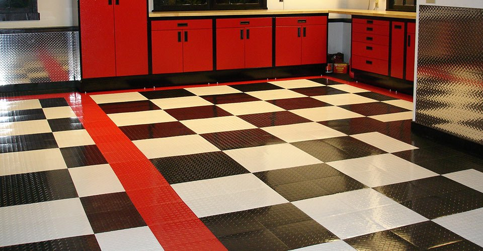 Garage Flooring Custom Epoxy Modular Tile Flooring