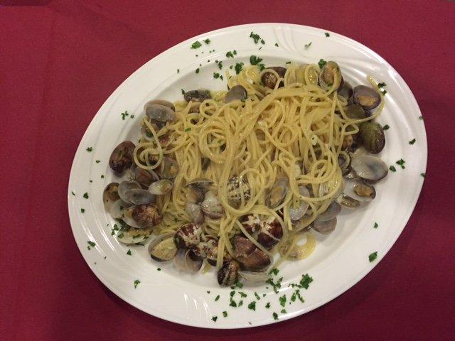 Spaghetti alle vongole a Venezia