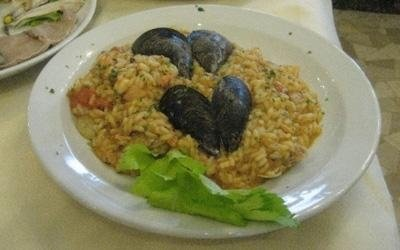 Risotto with shellfish